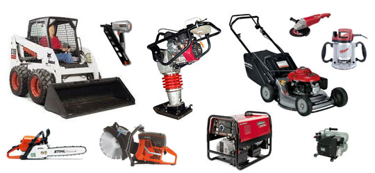 Power Tools & Light Construction Equipment Rental