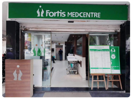Dental Health Care Clinic At Fortis Medcentre