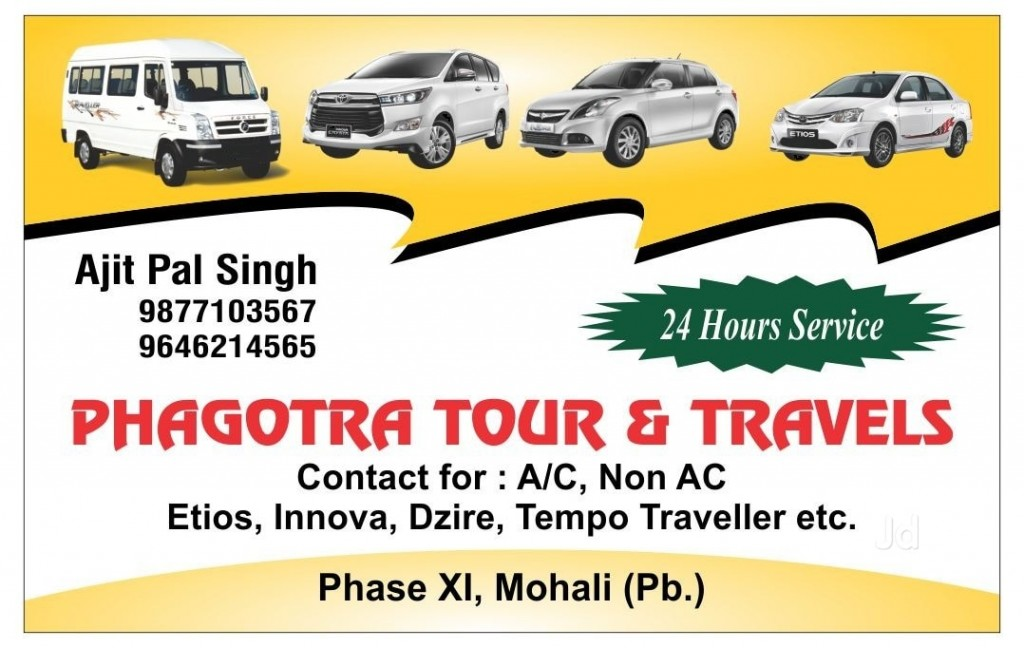 Phagotra Tour & Travels